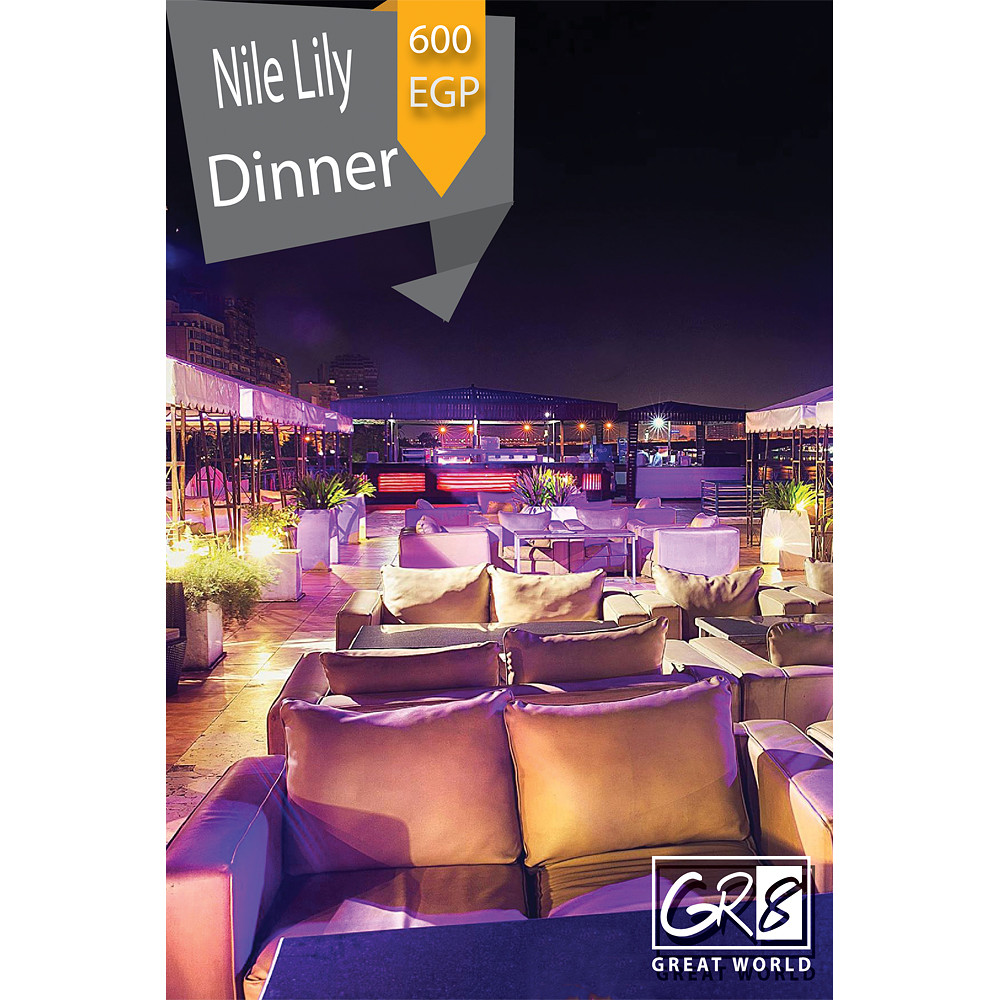 Gr8World Dinner at Nile Lily Small  Yacht